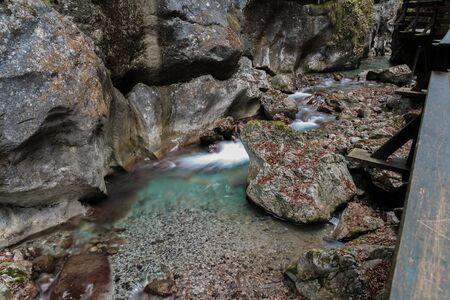 washed out: Creek in Austria