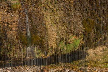 saalfelden: Water curtain in Maria Alm, Austria