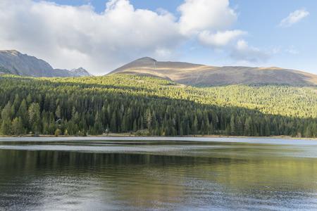 Lake Prebersee in Lungau in Austria Stock Photo