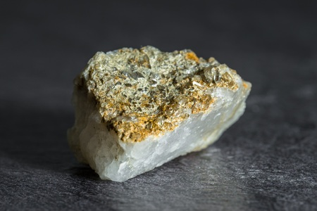 Stone with little rock crystals from Austria