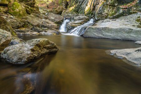 Steinklamm in Spiegelau in the Bavarian Forest, Germany Reklamní fotografie
