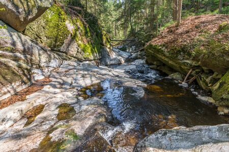 Steinklamm in Spiegelau in the Bavarian Forest, Germany
