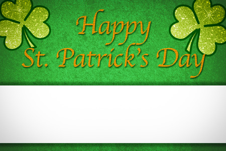 patric banner: st. patricks day