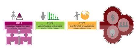 graphic: Key success info graphic Illustration