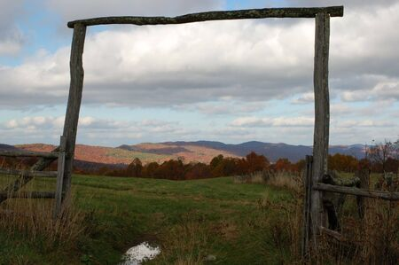 fencepost: Country Fence in Tennessee