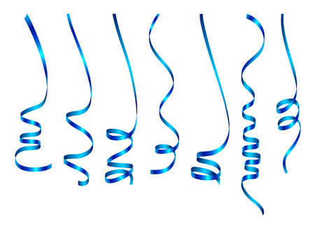 Kleurrijke vector serpentine op transparante achtergrond