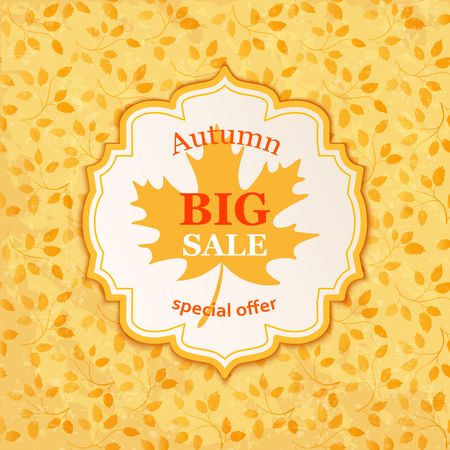 Autumn Sale Banner template