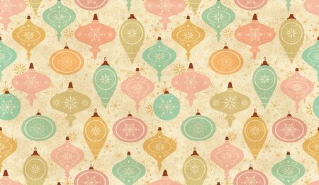 Seamless pattern. Christmas background - vector
