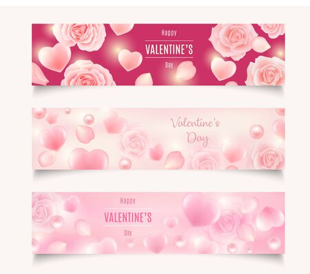 Valentines day sale background. Vector illustration. Wallpaper, flyers, voucher,banners.