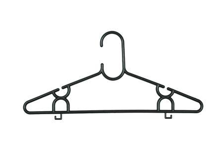 house ware: Coat Hanger Stock Photo