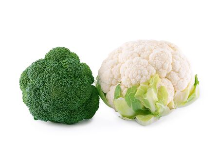 brocoli: Healthy brocoli isolated on a white background