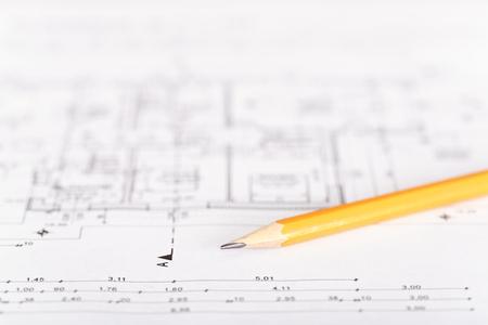 grafit: Grafitowy ołówek na planie