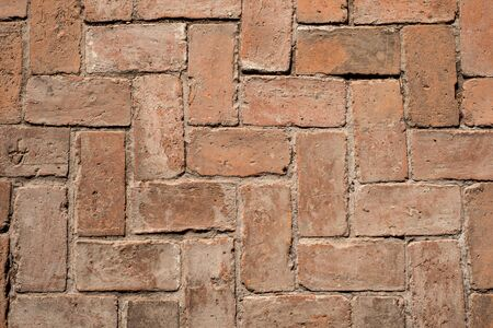Red brick texture for background