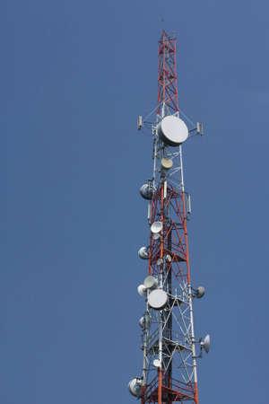 telecommunications pole
