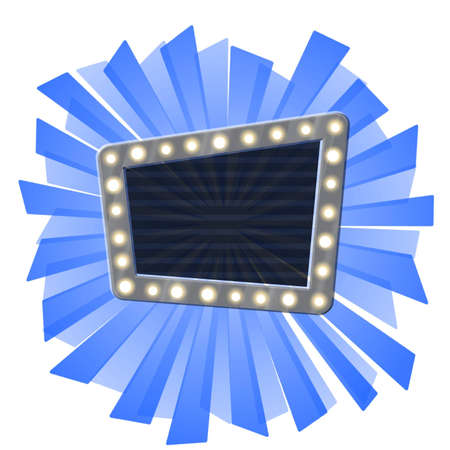 Message board on blue ray burst