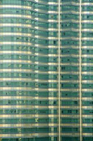 City office building facade