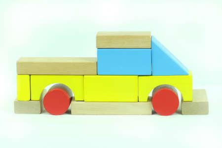 Toy blocks pickup