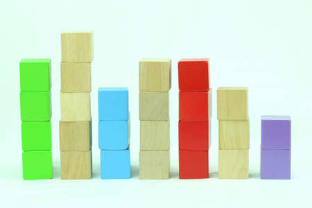 Toy block stacks