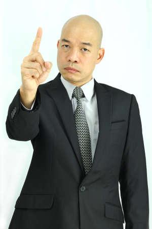Asian businessman in suit