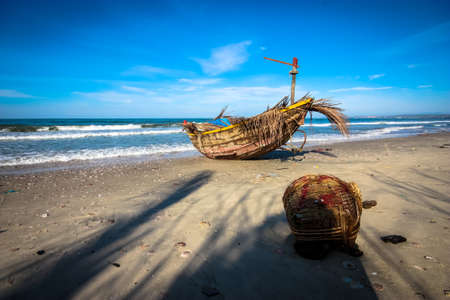 fishingboat: Mui Ne Fishingboat Stock Photo
