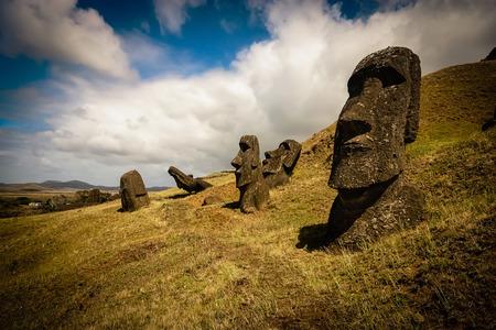 Easter Island Moai photo