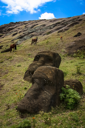 moai: Isla de Pascua Moai