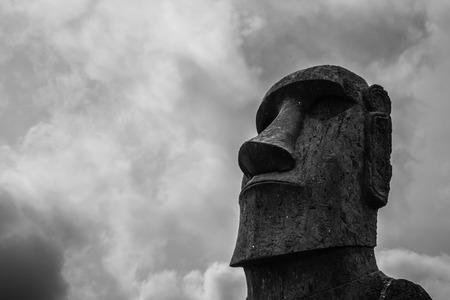 moai: Easter Island Moai Stock Photo