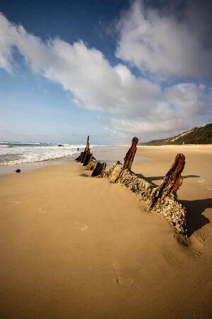 Fraser Island S.S Maheno Wreck photo