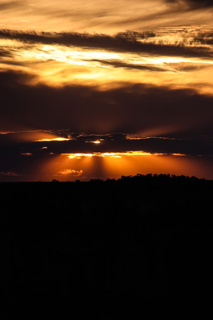 Outback Sunset photo