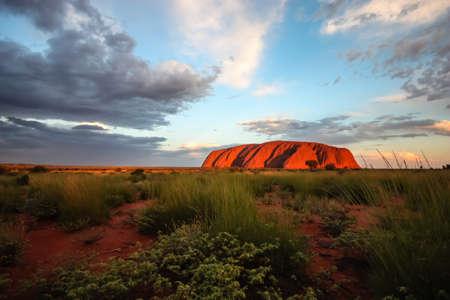 large rock: Uluru Editorial