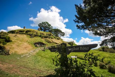 waterwheel: Hobbiton, The Shire, New Zealand