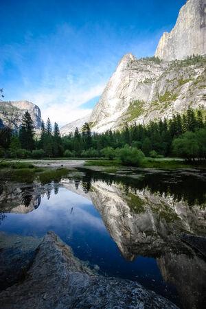 Mirror Lake, Yosemite photo