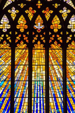 Stained Glass Church Window 写真素材