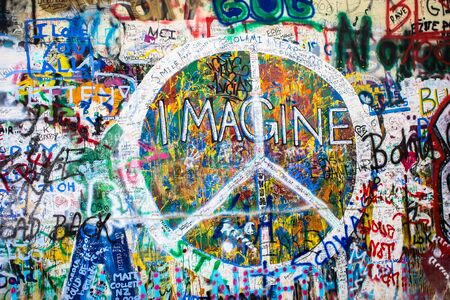 The Lennon Wall, Prague