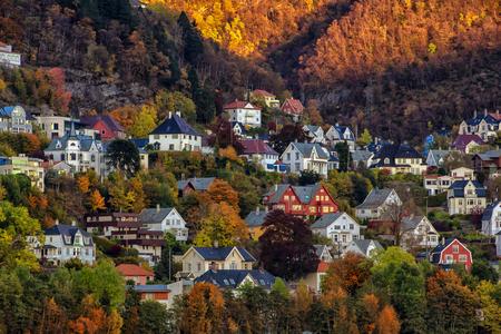 Fall in Bergen, Norway