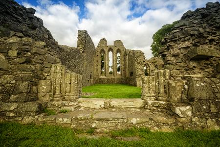 Inch Abbey, Northern Ireland