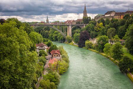 Uitzicht over Bern, Zwitserland