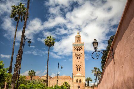 Mosquée de la Koutoubia à Marrakech, Maroc