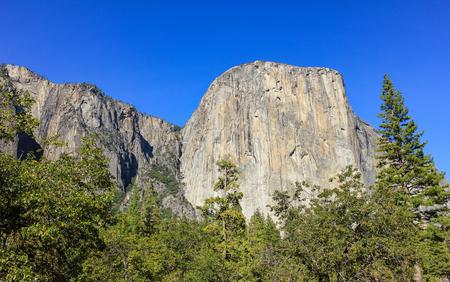 el capitan: El Capitan rock at Yosemite National Park,USA. Stock Photo