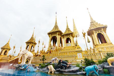 Royal cremation of His Majesty King Bhumibol Adulyadej at Bangkok.