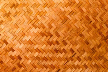 Bamboo basketry texture for background.