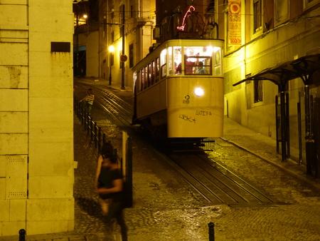 gloria: Gloria funicular Lisbon