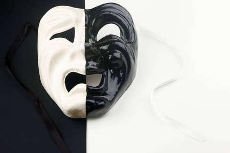 anonyme: Carnaval de Venise traditionnelle masque