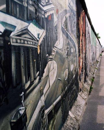 scheidingslijnen: Berlijnse muur delen van Oost en west-Duitsland