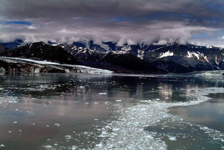 Advancing glacier in Alaska North America photo