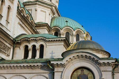 nevsky: Alexander Nevsky cathedral detail Stock Photo