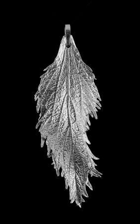 fine silver: Spiraea in fine silver
