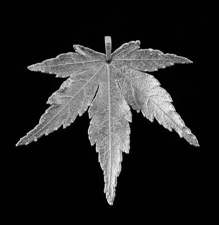 fine silver: Maple in fine silver