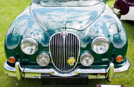 Jaguar MARK Image Taken On Classic Car Show At Mooragh - Green isle park car show