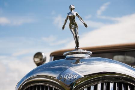 Riley classic car symbol on bright sunny background  Stock Photo - 14443385